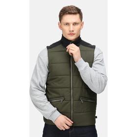 Regatta Halloran Bodywarmer Vest Men dark khaki/black